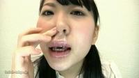 美女の鼻水観察映像!