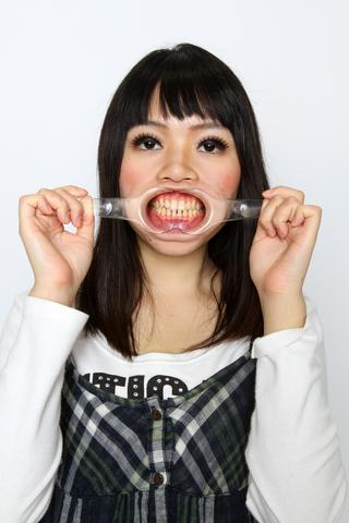 田中由美さんの歯観察。