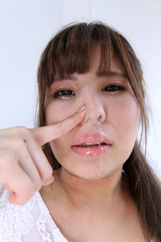 渚 鼻穴・鼻水観察
