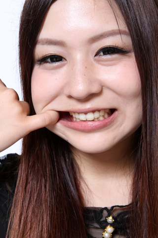 三井倉菜結 自分の歯にビックリ