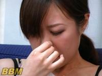美女の鼻水(鼻水でオナニー)
