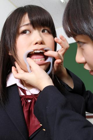 歯相互観察 歯舐めレズ