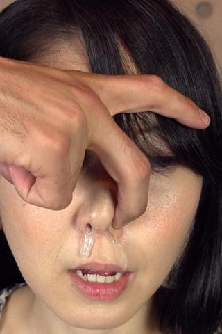 ゆうか 鼻水観察
